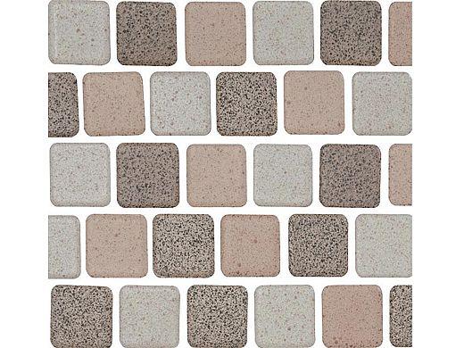 National Pool Tile Cornerstone 1x1 Series   Mocha   CNRST-MOCHA