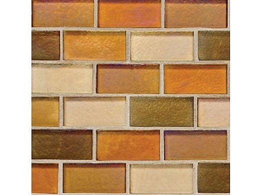 National Pool Tile Spectra 7/8 x 1 7/8 Glass | Harvest | OCN-HARVEST1X2