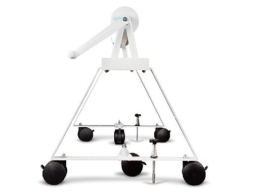 Rocky's Reel Systems High Riser Residential Reel System   AT-2 Adjustable Tube Set For Up To 24' Wide Pool   318/325