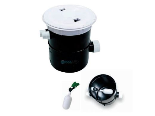 AquaStar FillStar Water Level Control System for Pools and Spas   Black Lid   AFB102
