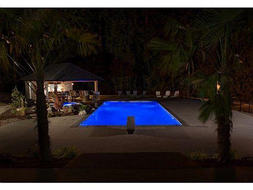 SR Smith Treo Micro White LED Underwater Pool Light   2W 12V 30' Cord   FLED-TM-W-30