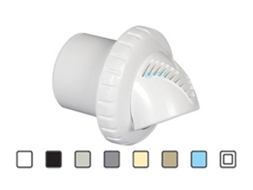 "Infusion Pool Products Venturi Return Fitting | Standard Insert Slip 1.5"" Inlet | White | VRFSISWH"