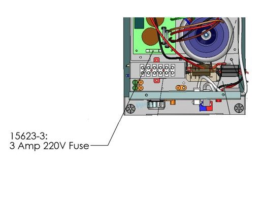 AutoPilot 3 Amp Fast Blo 220V Fuse   15623-3