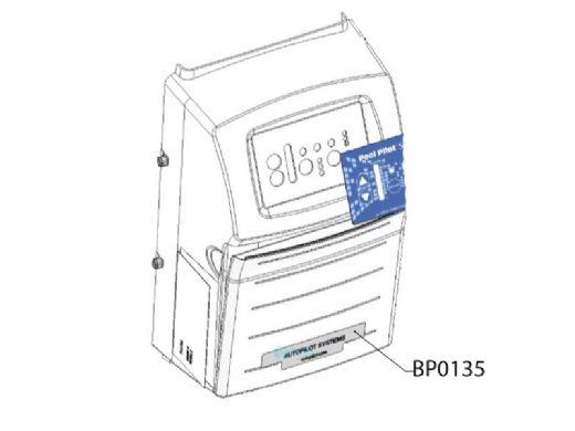 AutoPilot Label Front Panel for DIG-220 Digital Power Center | LBP0135