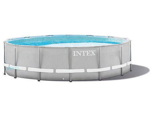Intex Above Ground Ultra Frame Pool Set | 16\' Round 48\