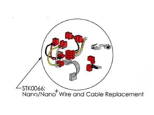AutoPilot Digital Nano/Nano+ Cubby Digital Wire and Cable Replacement   STK0066