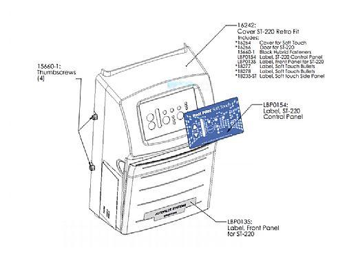 AutoPilot Power Supply Cover ST-220 Retro Fit | 16242