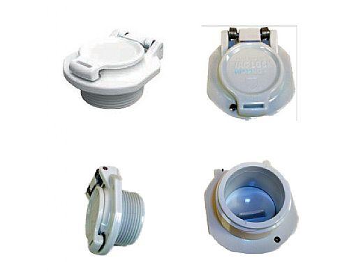"Aquastar Safety Vacuum Lock Wall Fitting 2"" | Blue | VLK20T104"