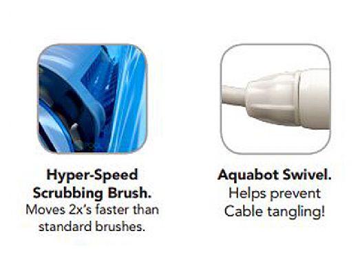 Aquabot Breeze Se Scrubbing Edition Robotic Pool Cleaner