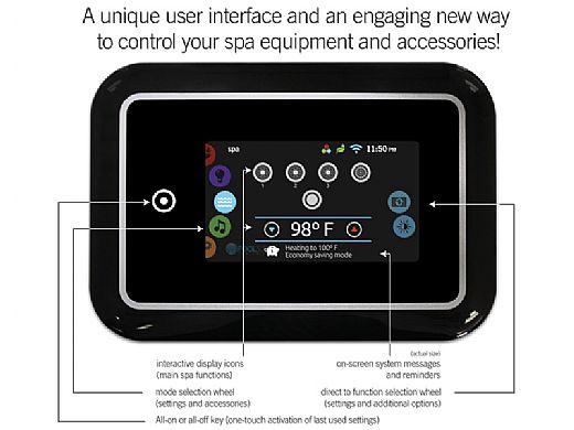 Gecko Alliance In.K1000 Touch Screen Pad | IN.K1000-BLACK-GE1 | 0607-005033
