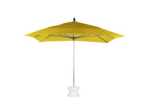 "Ledge Lounger Choice Umbrella | 11' Octagon 1.5"" White Pole 