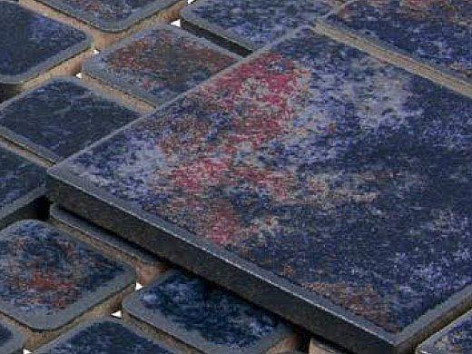 National Pool Tile Stonescapes 3x3 Series | Aztec Blue | ST-3BLUE