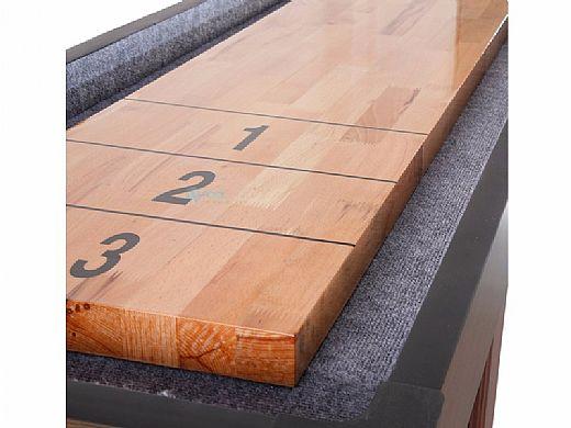 Hathaway Challenger 14-Foot Shuffleboard Table | Walnut Finish | NG1218 BG1218