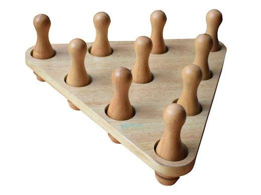 Hathaway Shuffleboard Bowling Pin Set   NG1232 BG1232