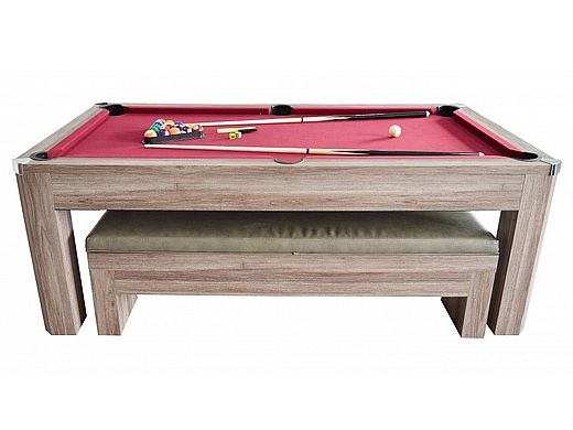 Pleasing Carmelli Newport 7 Foot Pool Table Set With Benches Ng2535P Download Free Architecture Designs Scobabritishbridgeorg