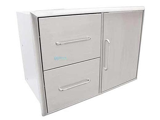SABER Double Drawer And Door Combo | K00AA3114