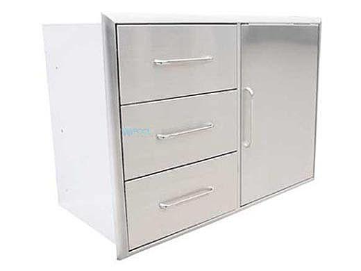 SABER Triple Drawer And Door Combo | K00AA3214