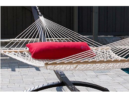 Vivere Sunbrella Hammock Pillow Jockey Red Pill335