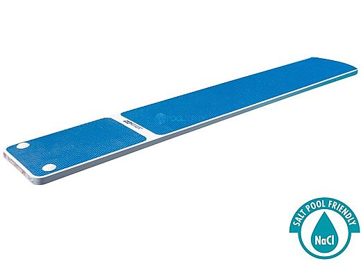 SR Smith TrueTread Series Diving Board | 8' White with Blue Top Tread | 66-209-578S2B