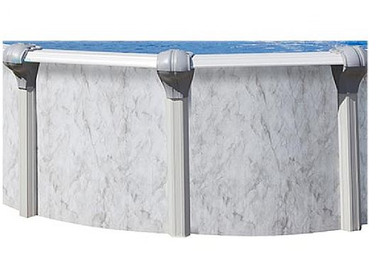 """Sierra Nevada 16' Round Above Ground Pool   Basic Package 52"""" Wall   163161"""