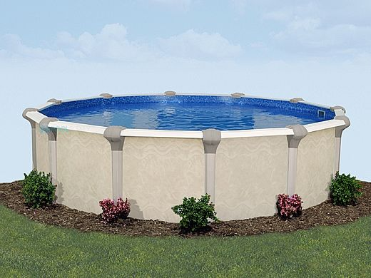 """Oxford 24' Round Above Ground Pool 