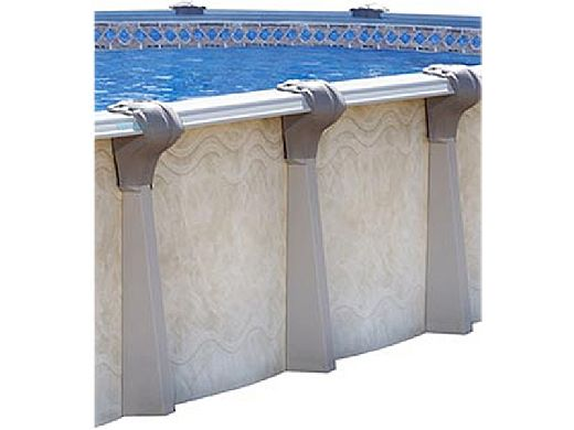 """Oxford 12' x 20' Oval Above Ground Pool   Basic Package 52"""" Wall   163413"""