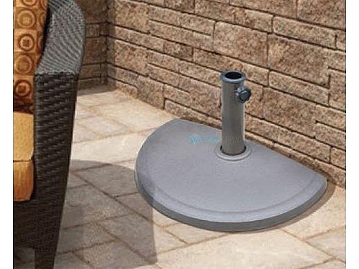 20 lb. Resin Half Round Umbrella Base | NU5420