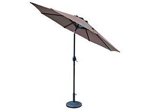 Trinidad Market Umbrella   9-ft. Octagonal   Coffee Polyester   NU5429CF