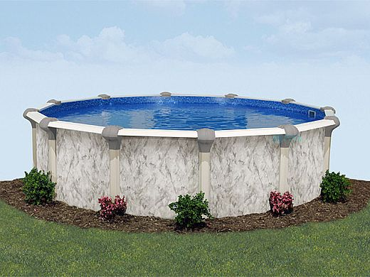"""Tahoe 18' x 33' Oval Above Ground Pool 