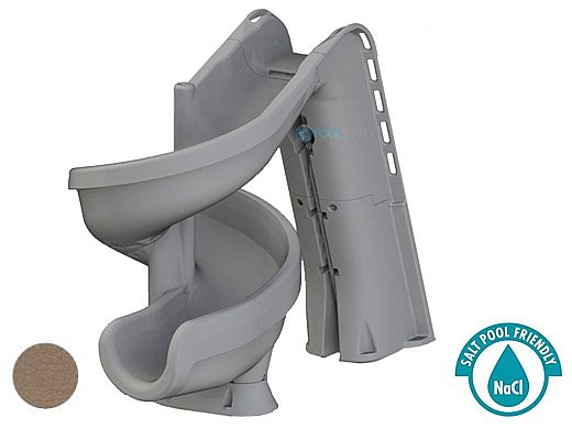 SR Smith heliX2 360 Degree Pool Slide | Solid Taupe | 640-209-58110