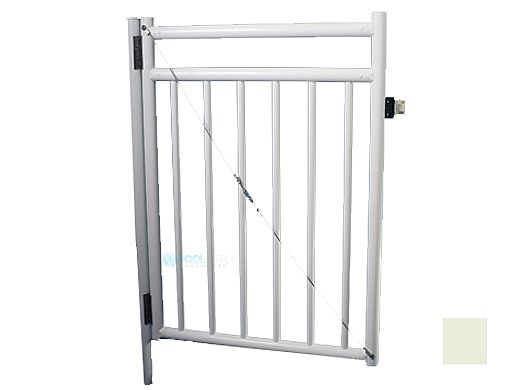 Saftron Self Closing Gate With Standard Latch For 2400 Series