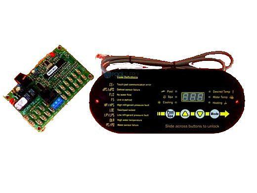 AquaCal Display Control Panel Microprocessor PCB Board with Cord | STK0178