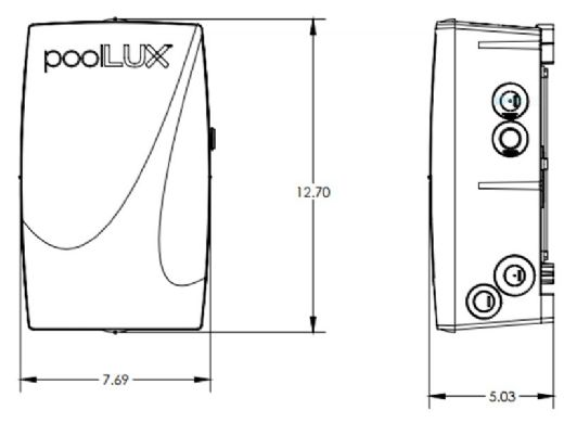 SR Smith poolLUX Power Lightning Control System | 100 Watt Transformer | Includes 3 Treo Light Kit | 3TR-PLX-PW100