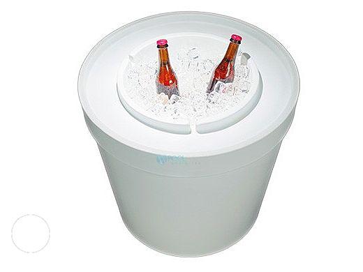 Ledge Lounger Ice Bin Lid | White | LLIBT-W