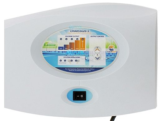 CaliMar® Platinum Series Chlorine Generator Control Center Only   up to 20,000 Gallons   CMARGSG20-5Y