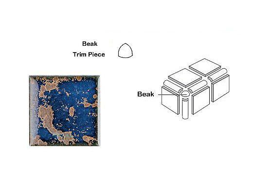 National Pool Tile Discovery Field 3x3 Beak | Terra Blue | DSF10N BEAK