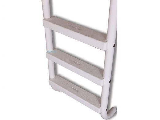 "Saftron Triton Series 3-Step Deck Mounted Ladder | .25"" Thickness 1.90"" OD 