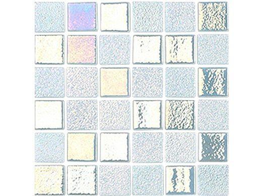 National Pool Tile Opal Glass 1x1 Tile | Mint Green | OPL-MINT1X1