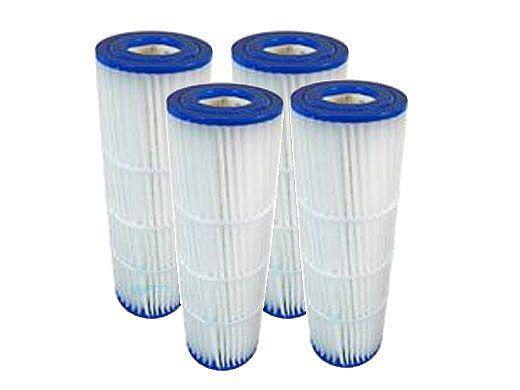 Replacement Element for Pentair Quad DE 80 Sq Ft Filter | 4-Pack | 178655 C-6980 XLS-622 DE FC-1962 PC-1962 FC-6482