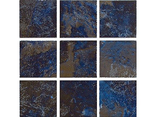 National Pool Tile Coral 2x2 Series | Blue | CRL-BLUE2X2