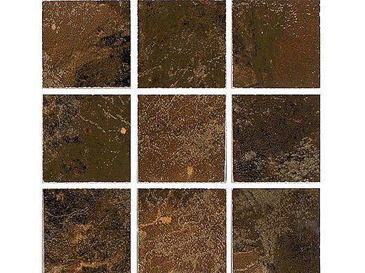 National Pool Tile Coral 2x2 Series | Brown | CRL-BROWN2X2