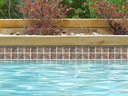 National Pool Tile Gemstone 2x2 Series | Oak | GMS-OAK2X2