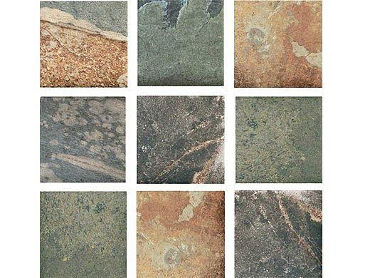 National Pool Tile Himalayan Slate 2x2 Series | Multicolor | HMS-MULTI2X2