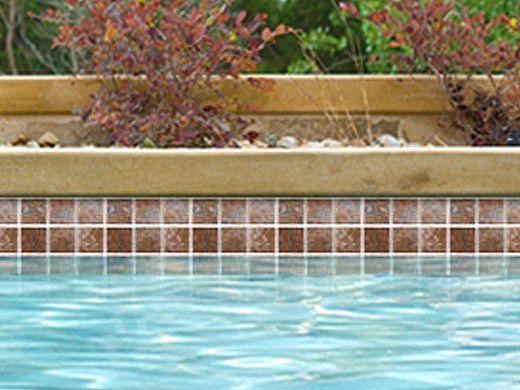 National Pool Tile Tundra 2x2 Series   Cotto   TUN-COTTO2X2