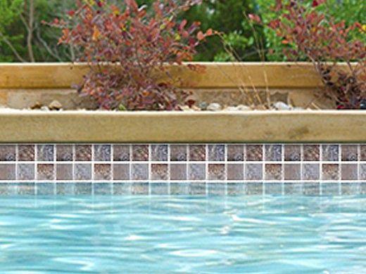National Pool Tile Tundra 2x2 Series | Multicolor | TUN-MULTICOLOR2X2