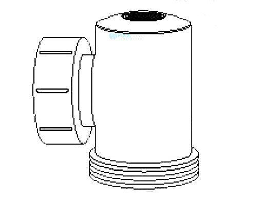 Delta Ultraviolet Tee Assy with Quartz Tube | 58-50411