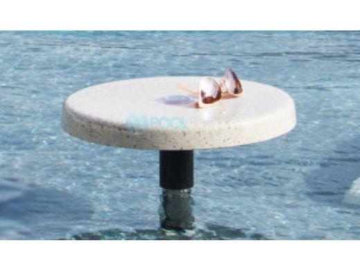 "SR Smith Destination Series 16"" Sun Shelf Table   Vinyl Liner Anchor Included   Pebble   VL-16 TABLE-55-C"