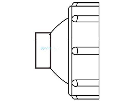 Aqua Ultraviolet Clear Quartz Cap | A40011