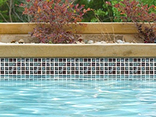 National Pool Tile Meridian 1x1 Series | Olive | MRD-OLIVE1X1