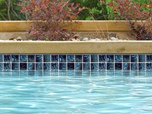 National Pool Tile Meridian 2x2 Series | Cobalt | MRD-COBALT2X2